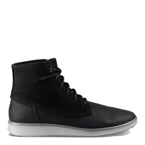 Black Suede/Leather Lamont Boots