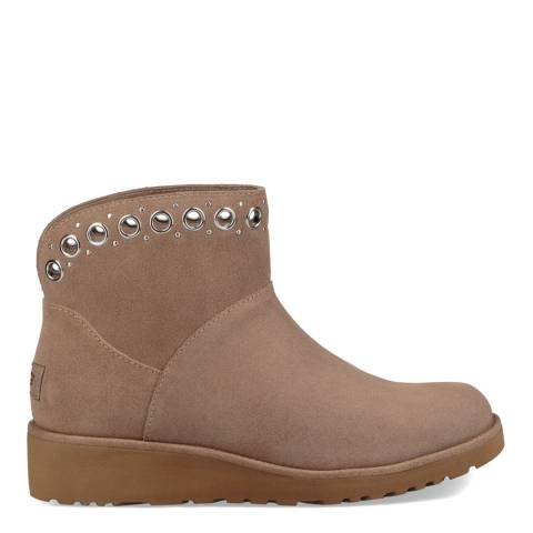 UGG Fawn Suede Riley Ankle Boots