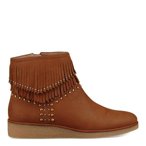 UGG Chestnut Ariane Unlined Western Boots