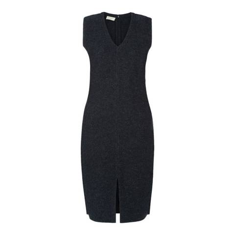Hobbs London Dark Grey Eliza Dress
