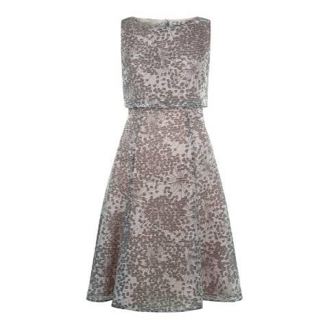Hobbs London Ivory/Multi Luisa Dress