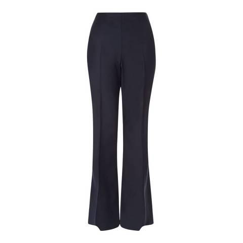 Hobbs London Navy Kira Bootleg Trousers