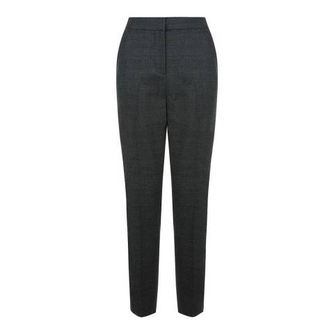 Hobbs London Black/Grey Elysa Trousers