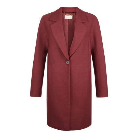 Hobbs London Red Cherrie Coat