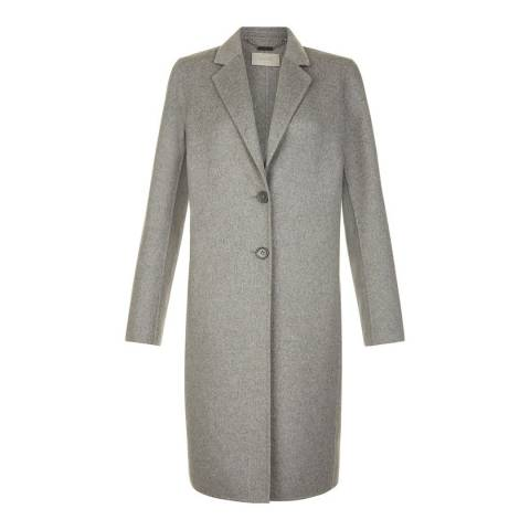 Hobbs London Grey Chloe Coat