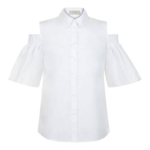 Hobbs London White Emily Shirt