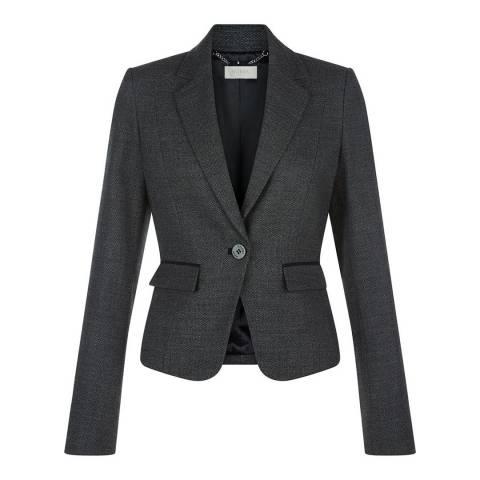 Hobbs London Black/Grey Elysa Jacket