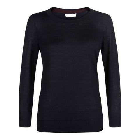 Hobbs London Burgundy Penny Sweater