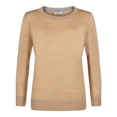 Hobbs London Camel Penny Jumper