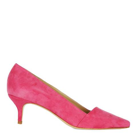 Hobbs London Fuchsia Suede Hope Court Shoes
