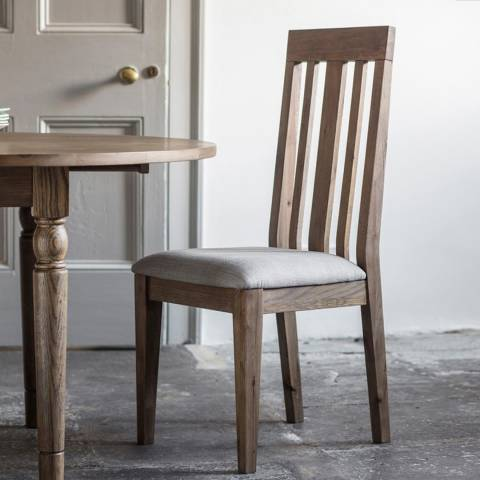 Gallery Pair of Cookham Dining Chair, Oak