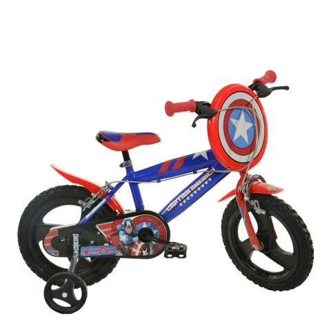 BuitenSpeel Captain America 16 Inch Wheel Bicycle