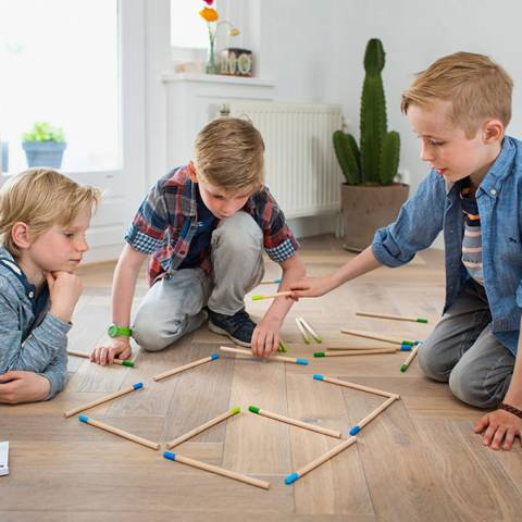 Buitenspeel Toys Match Puzzle