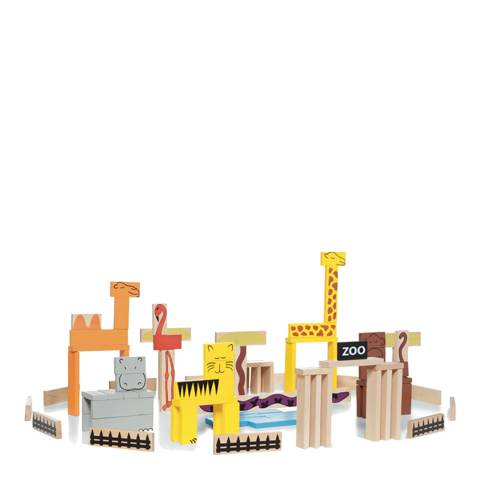 Buitenspeel Toys Wooden Animal Blocks