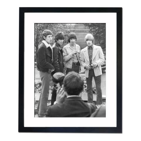 51 DNA The Rolling Stones in Paris 1966, Framed Art Print