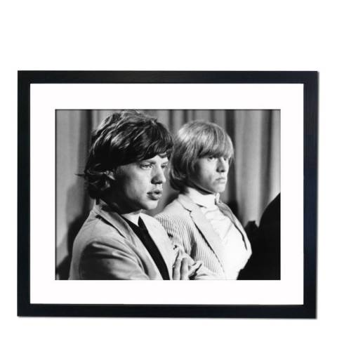51 DNA Mike Jagger and Brian Jones 23rd June 1964, Framed Art Print