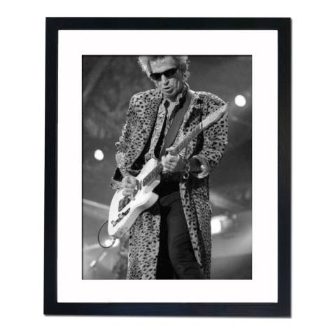 51 DNA Keith Richards in Concert New York 1997, Framed Art Print