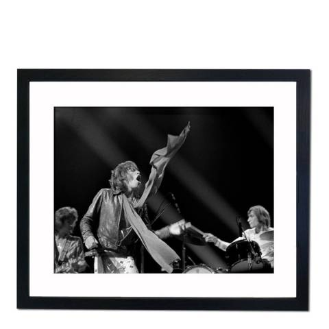 51 DNA The Rolling Stones at the New York Music Awards, Framed Art Print