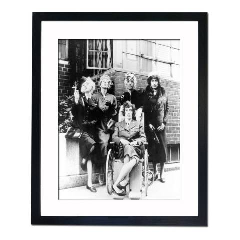 51 DNA The Rolling Stones 'Have you seen your mother baby standing in the shadow' 1966, Framed Art Print