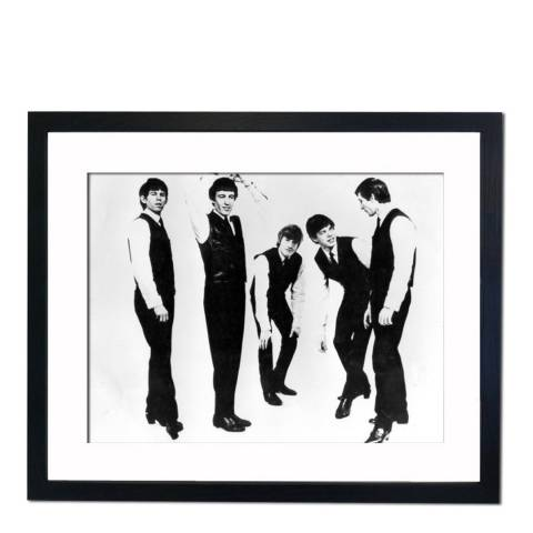 51 DNA The Rolling Stones in the 60's, Framed Art Print