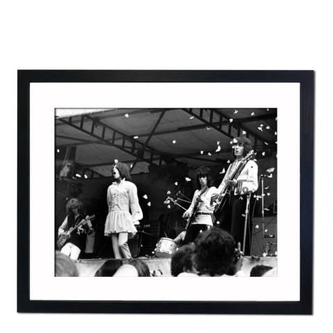 51 DNA Concert in memory of Brian Jones 1969, Framed Art Print