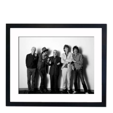 51 DNA The Rolling Stones group shot, Framed Art Print