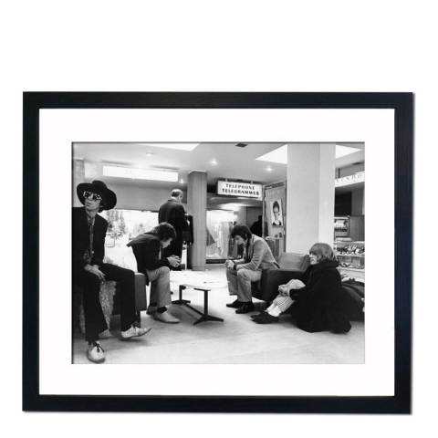 51 DNA Iconic Picture of The Rolling Stones in 1967, Framed Art Print