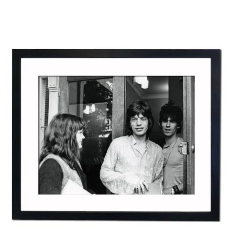 51 DNA Mick Jagger and Keith Richards 1967, Framed Art Print