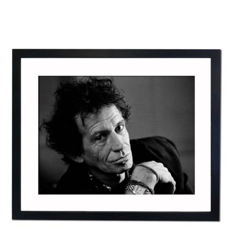 51 DNA Keith Richards 1977, Framed Art Print