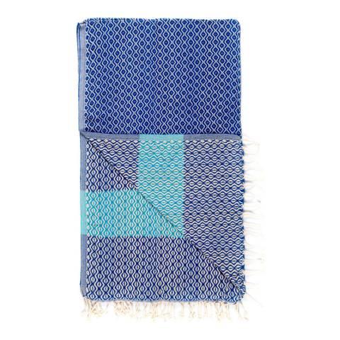 Damala Hammam Towel Blue Turquoise Brandalley