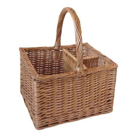 Perfect Picnic Deluxe 2 Bottle Butcher's Basket