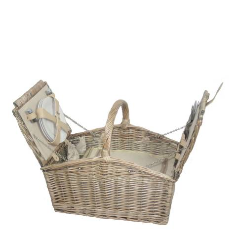 Perfect Picnic Double Lidded 4 Person Picnic Hamper