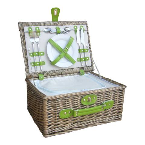 Perfect Picnic Green Chiller 2 Person Hamper