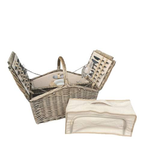 Perfect Picnic Two Lid Fitted 4 Person Hamper