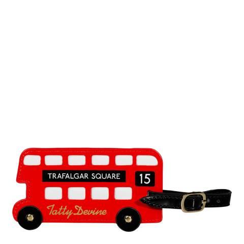 Tatty Devine London Bus Luggage Tag