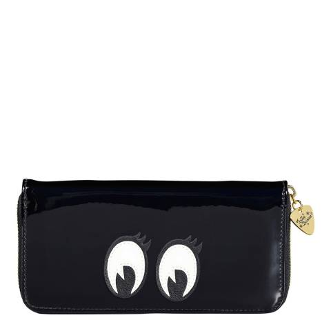 Tatty Devine Cartoon Eyes Zip Around Purse