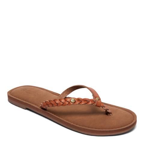 Roxy LIVIA J SNDL BRN Fashion Sandal