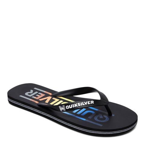 Quiksilver MOLOKAI WORDMAR M SNDL XKRB Black Basic Sandal