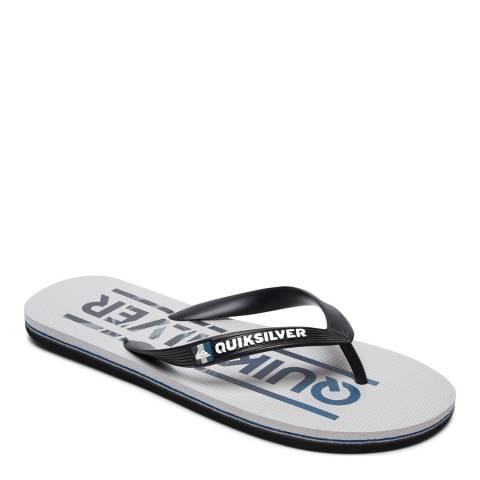 Quiksilver MOLOKAI WORDMAR M SNDL XKSS Grey Basic Sandal