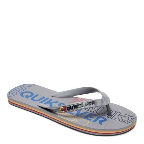Quiksilver MOLOKAI NITRO M SNDL XSSS Grey Basic Sandal