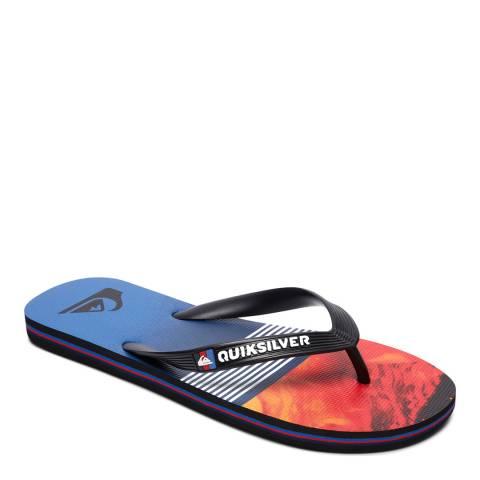 Quiksilver MOLOKAILAVADIVS M SNDL XKRB Blue Basic Sandal