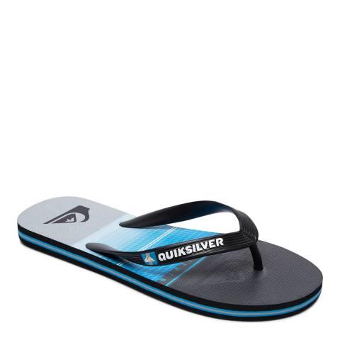 Quiksilver MOLOHIGHLINSLAB M SNDL XKBS Blue Basic Sandal
