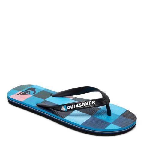 Quiksilver MOLOKAIRESINCHK M SNDL XKBR Blue Basic Sandal