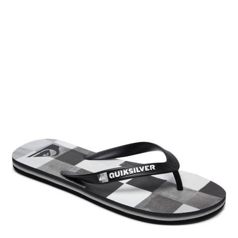 Quiksilver MOLOKAIRESINCHK M SNDL XKWS Black/White Basic Sandal