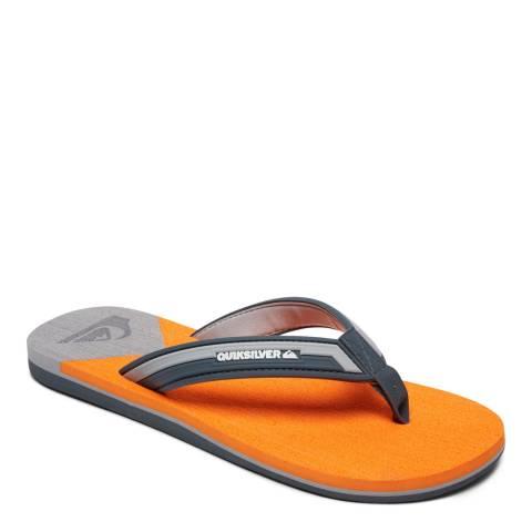 Quiksilver MOLOKAI NEW WAV M SNDL XSNS Orange Basic Sandal