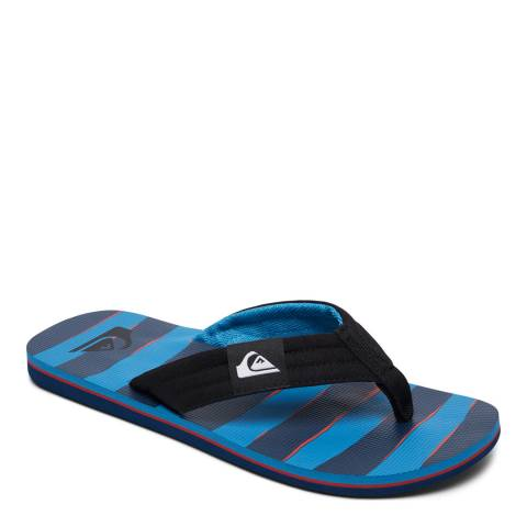 Quiksilver MOLOKAI LAYBACK M SNDL XKRB Blue Basic Sandal