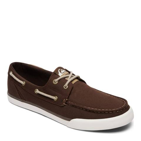 Quiksilver SPAR M SHOE XCCW Brown Vulcanized Shoe