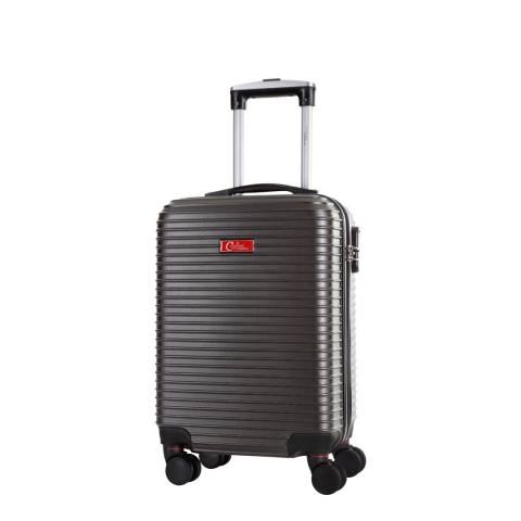 Corinne Cobson Grey Shirley 8 Wheeled Suitcases 46 cm
