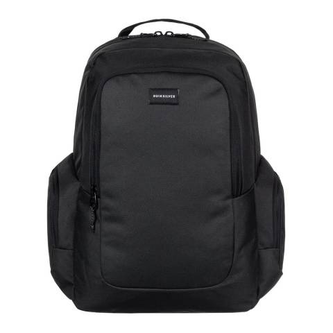 Quiksilver Black Schoolie 25L Medium Backpack