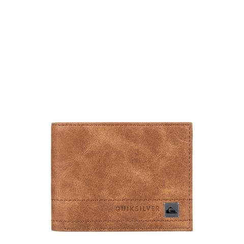 Quiksilver Tan Stitchy Bi-Fold Wallet